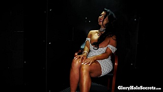 Raven\'s First Gloryhole Video