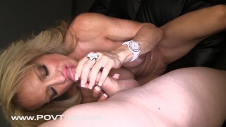 Raquel POV Train HD Video 1